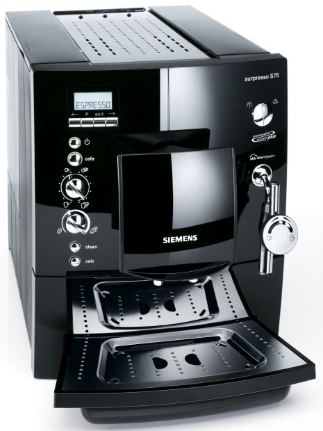 кофемашина Siemens Surpresso S75 инструкция - фото 4